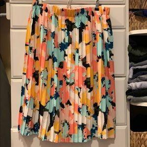 Ava & Viv multi color skirt